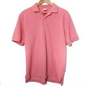 Brooks Brothers 346 Men's Polo Short Sleeve Shirt